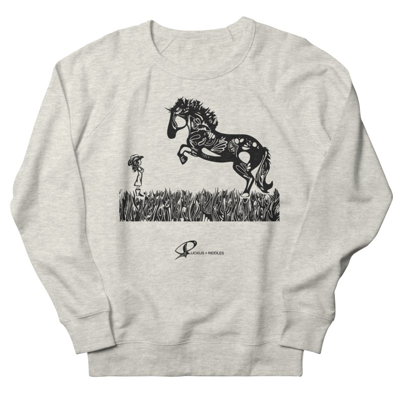 Girl and Horse 2020 Men's Sweatshirt by Ruckus + Riddles