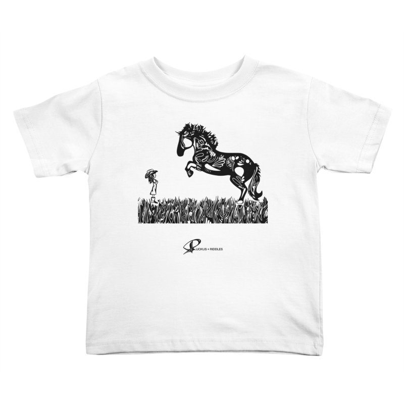 Girl and Horse 2020 Kids Toddler T-Shirt by Ruckus + Riddles