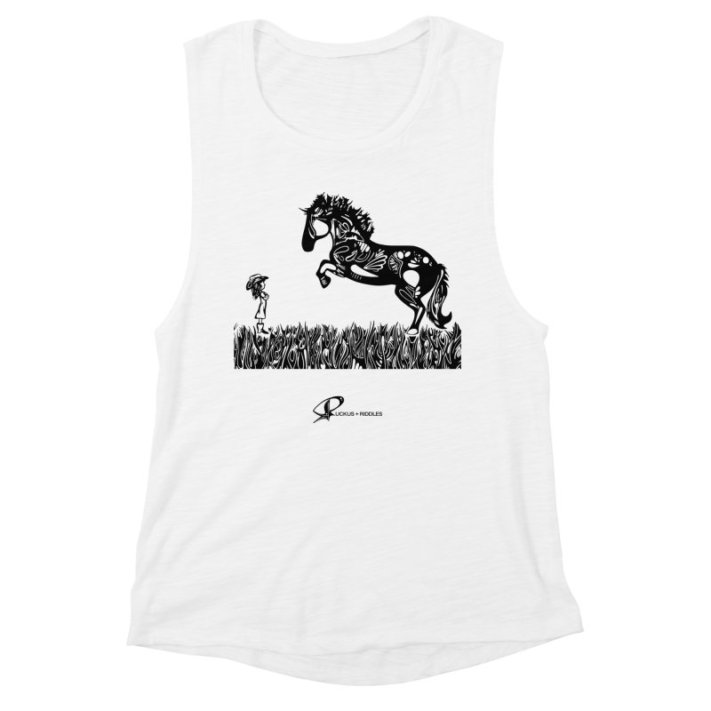 Girl and Horse 2020 Women's Tank by Ruckus + Riddles
