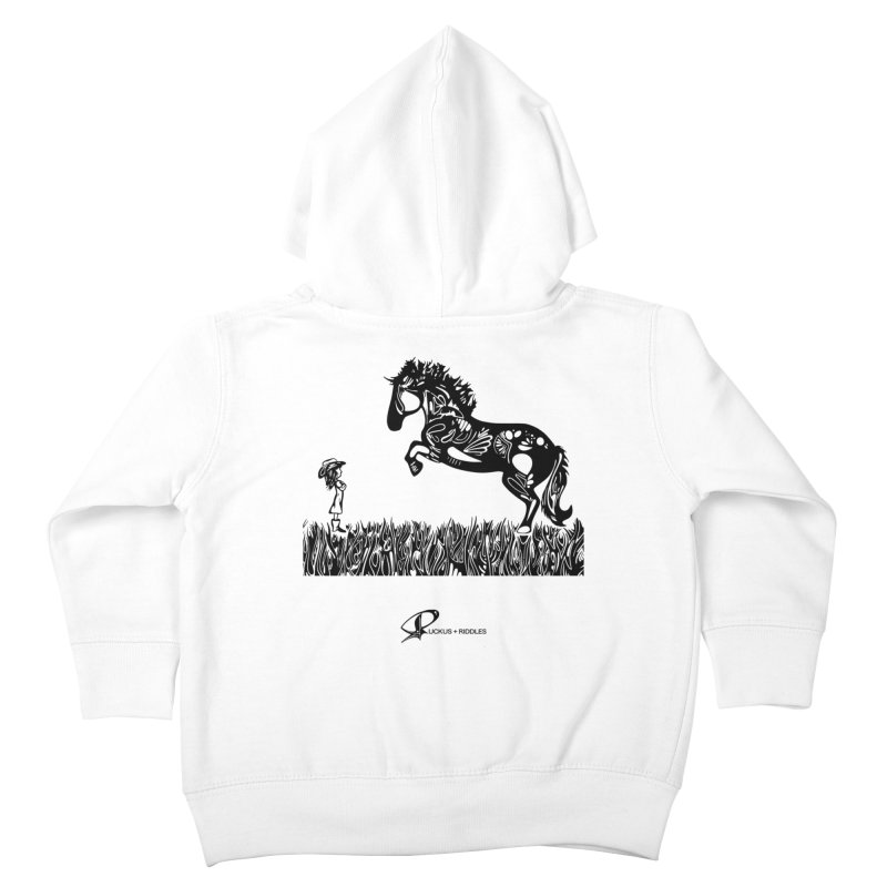Girl and Horse 2020 Kids Toddler Zip-Up Hoody by Ruckus + Riddles