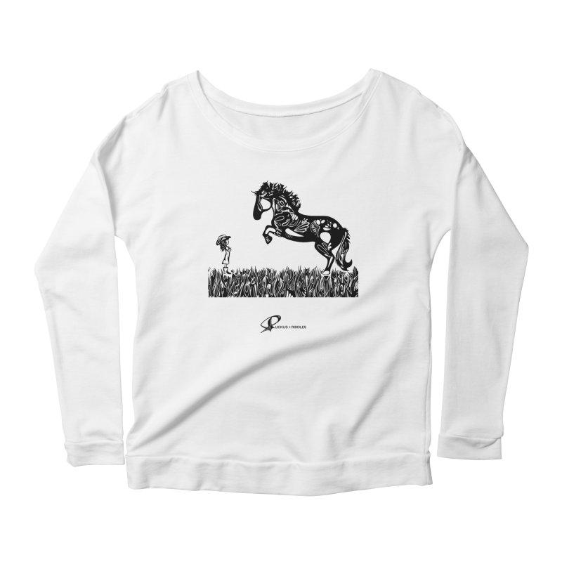 Girl and Horse 2020 Women's Longsleeve T-Shirt by Ruckus + Riddles