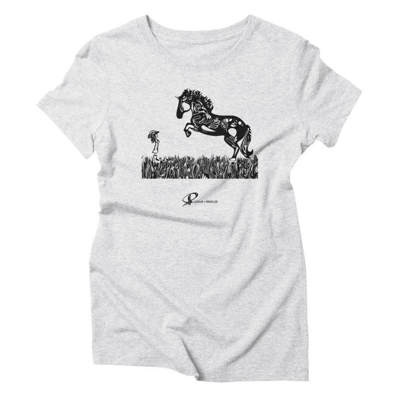 Girl and Horse 2020 Women's T-Shirt by Ruckus + Riddles