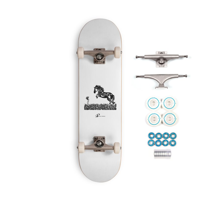 Girl and Horse 2020 Accessories Skateboard by Ruckus + Riddles