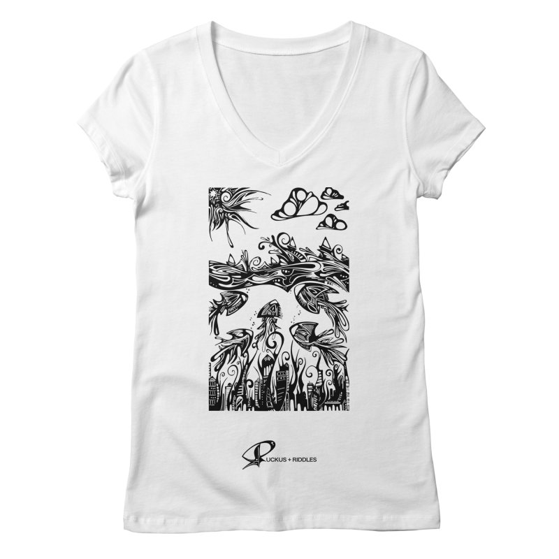 Fathomless 2020 Women's V-Neck by Ruckus + Riddles