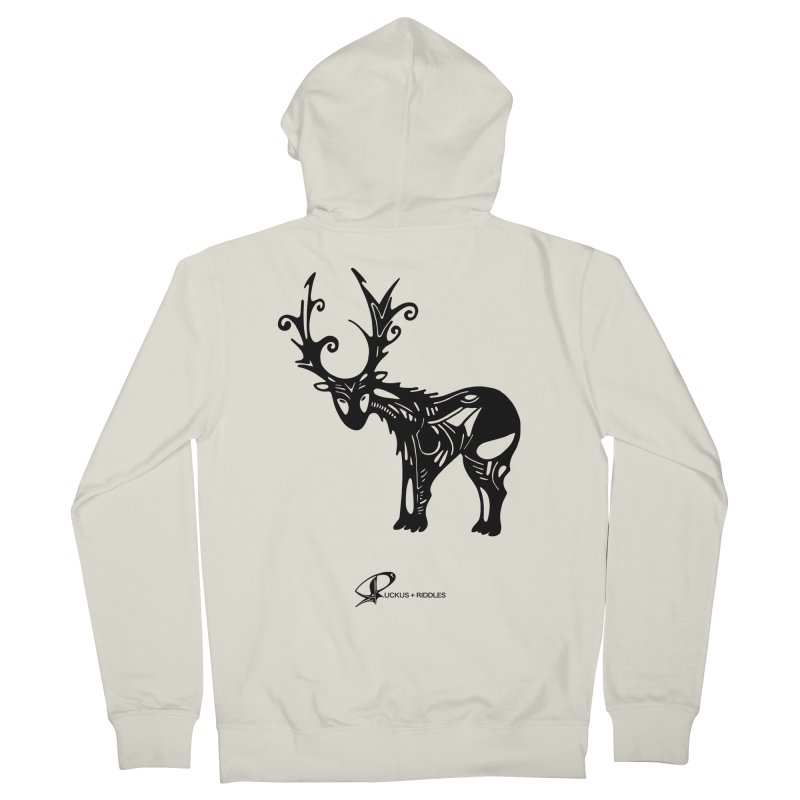Reindeer 2020 Women's Zip-Up Hoody by Ruckus + Riddles
