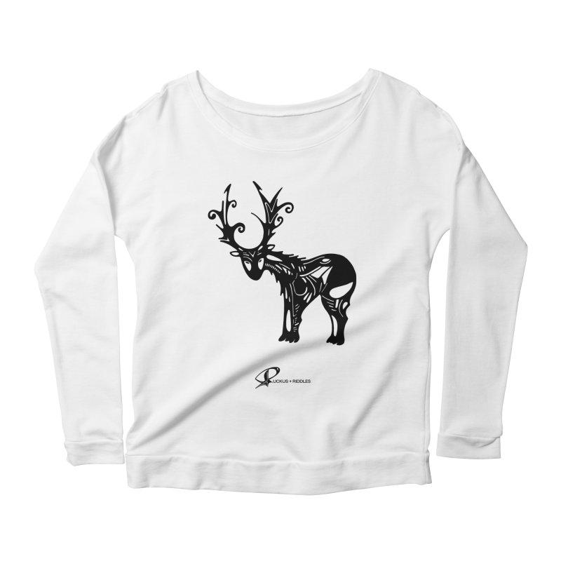 Reindeer 2020 Women's Longsleeve T-Shirt by Ruckus + Riddles