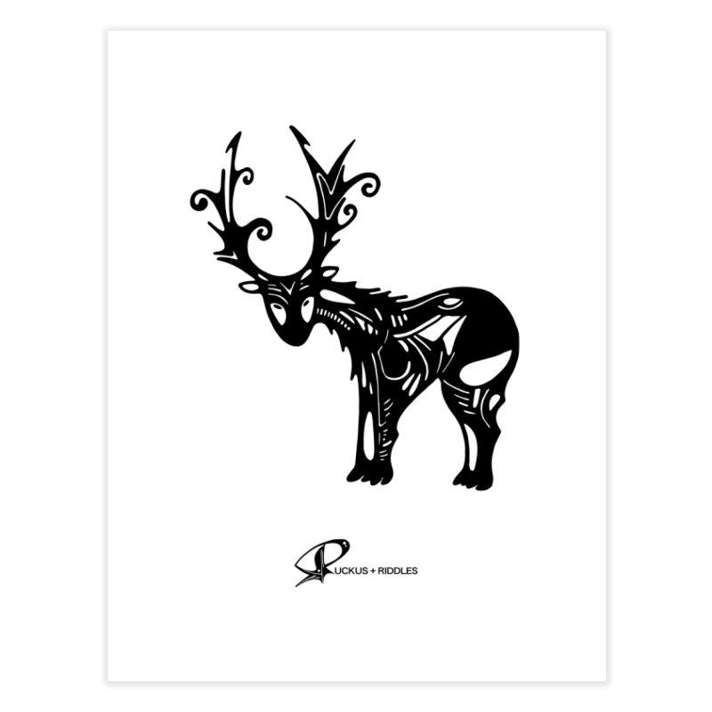 Reindeer 2020 Home Fine Art Print by Ruckus + Riddles