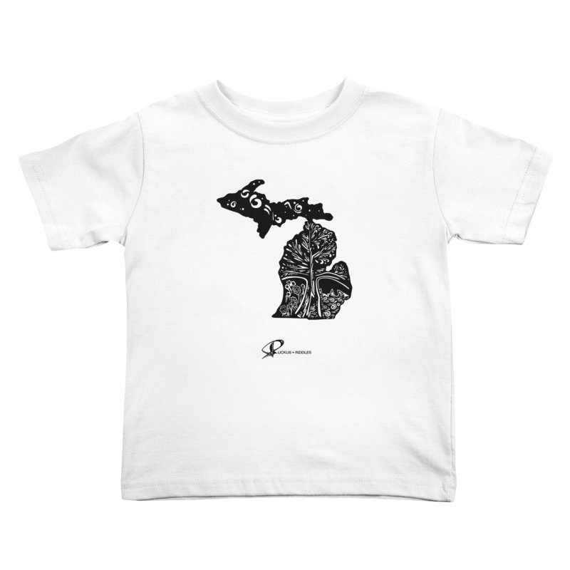 Michigan A 2021 Kids Toddler T-Shirt by Ruckus + Riddles