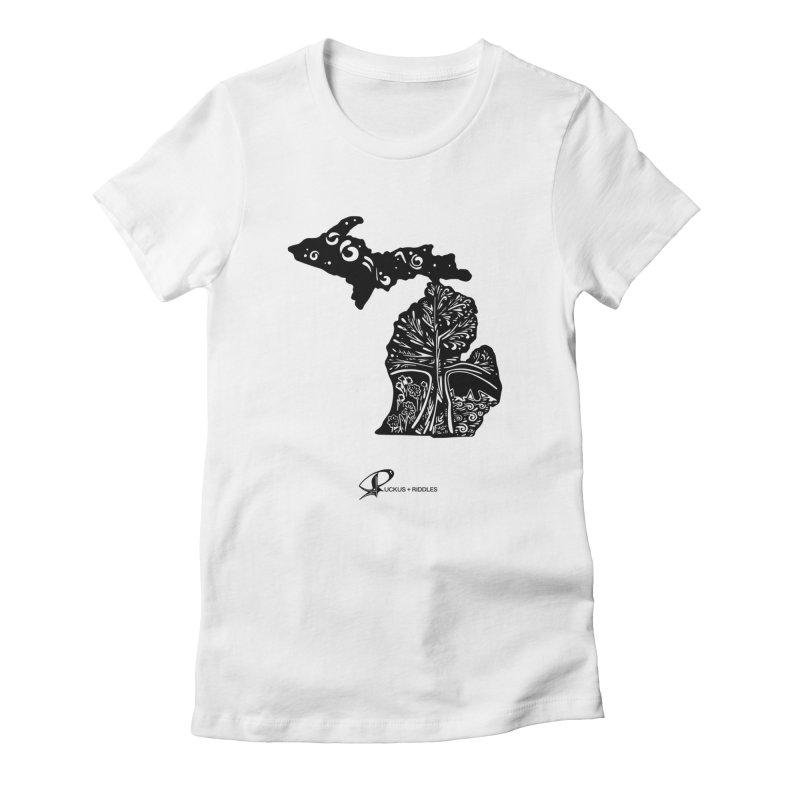 Michigan A 2021 Women's T-Shirt by Ruckus + Riddles
