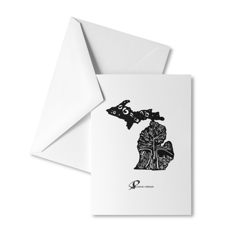 Michigan A 2021 Accessories Greeting Card by Ruckus + Riddles
