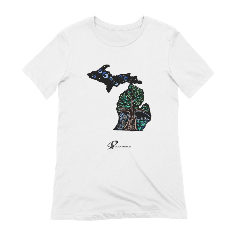 Michigan B 2021 Women's T-Shirt by Ruckus + Riddles