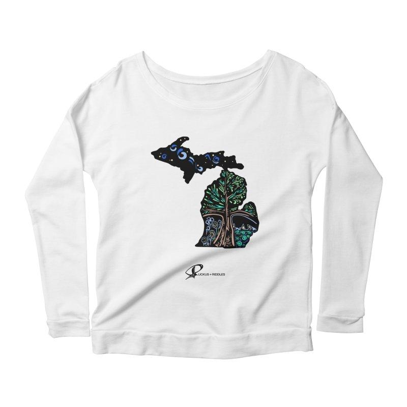 Michigan B 2021 Women's Longsleeve T-Shirt by Ruckus + Riddles