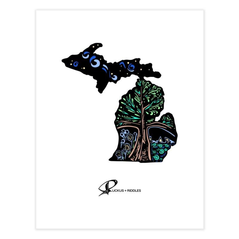Michigan B 2021 Home Fine Art Print by Ruckus + Riddles
