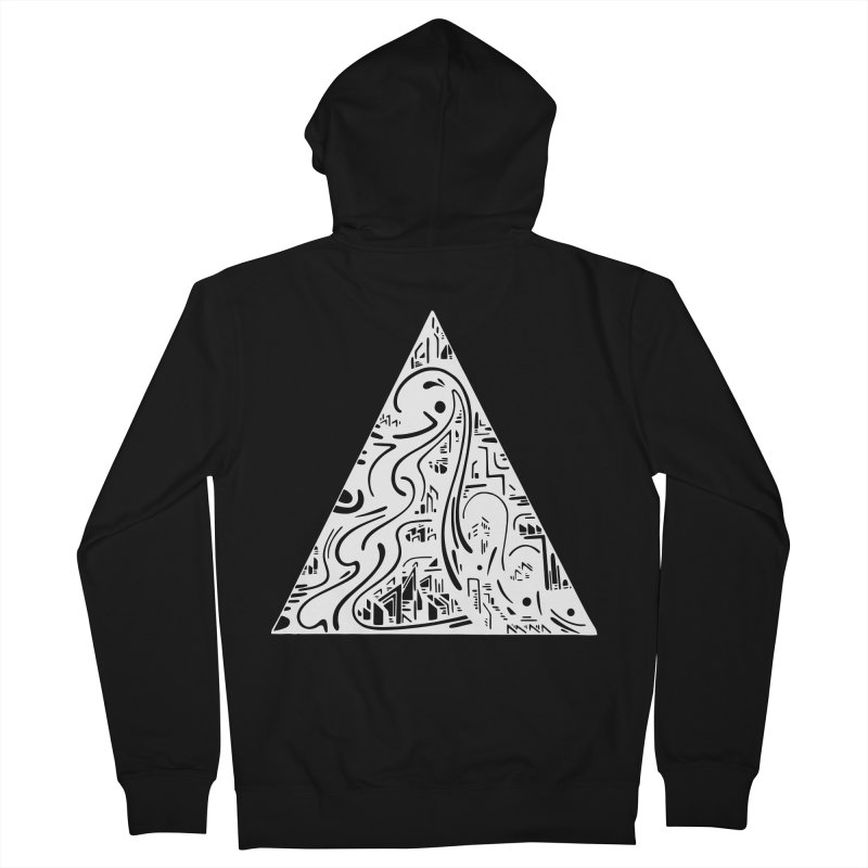 Triangle City 2021 Men's Zip-Up Hoody by Ruckus + Riddles