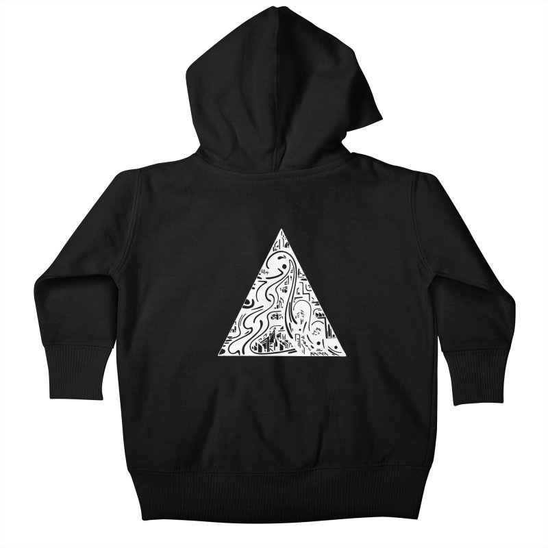 Triangle City 2021 Kids Baby Zip-Up Hoody by Ruckus + Riddles