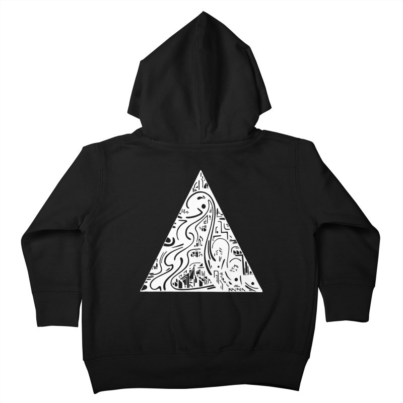 Triangle City 2021 Kids Toddler Zip-Up Hoody by Ruckus + Riddles