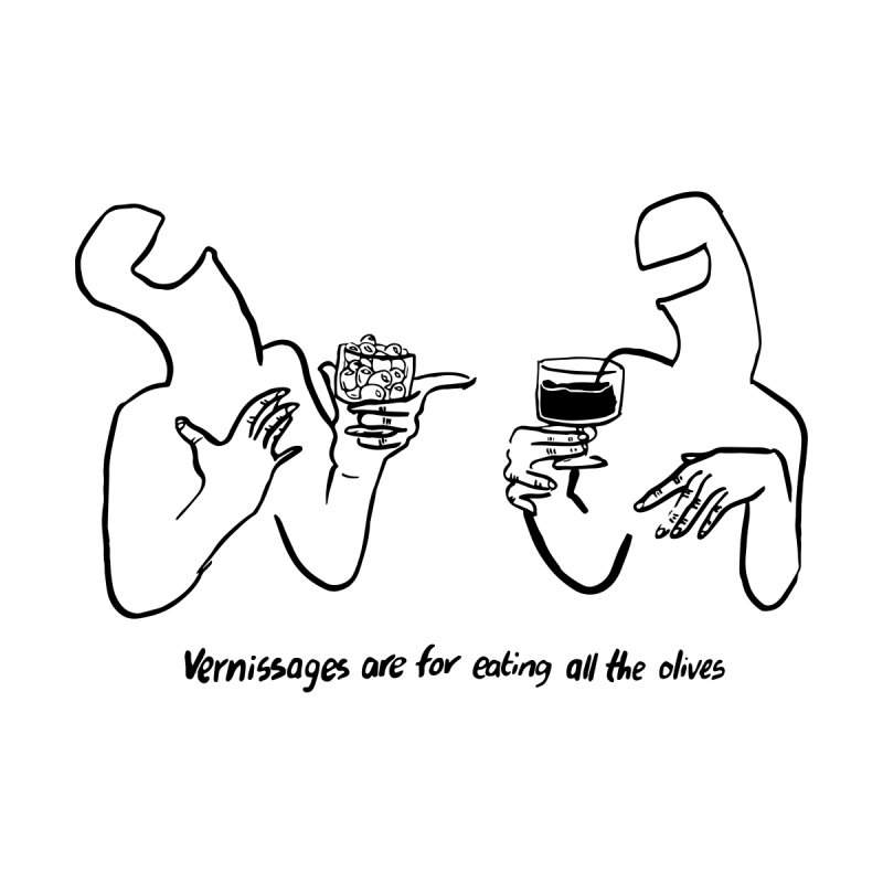 Vernissage - Light Men's T-Shirt by Ruffle Stuff