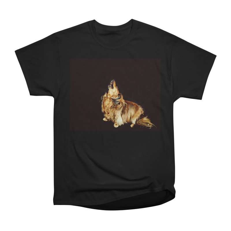 Howling longhair Women's Heavyweight Unisex T-Shirt by rufusontheweb's Artist Shop