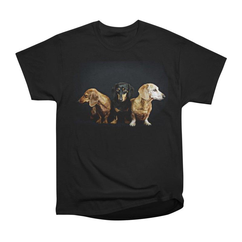 Rufus, Emily & Lily Men's T-Shirt by rufusontheweb's Artist Shop