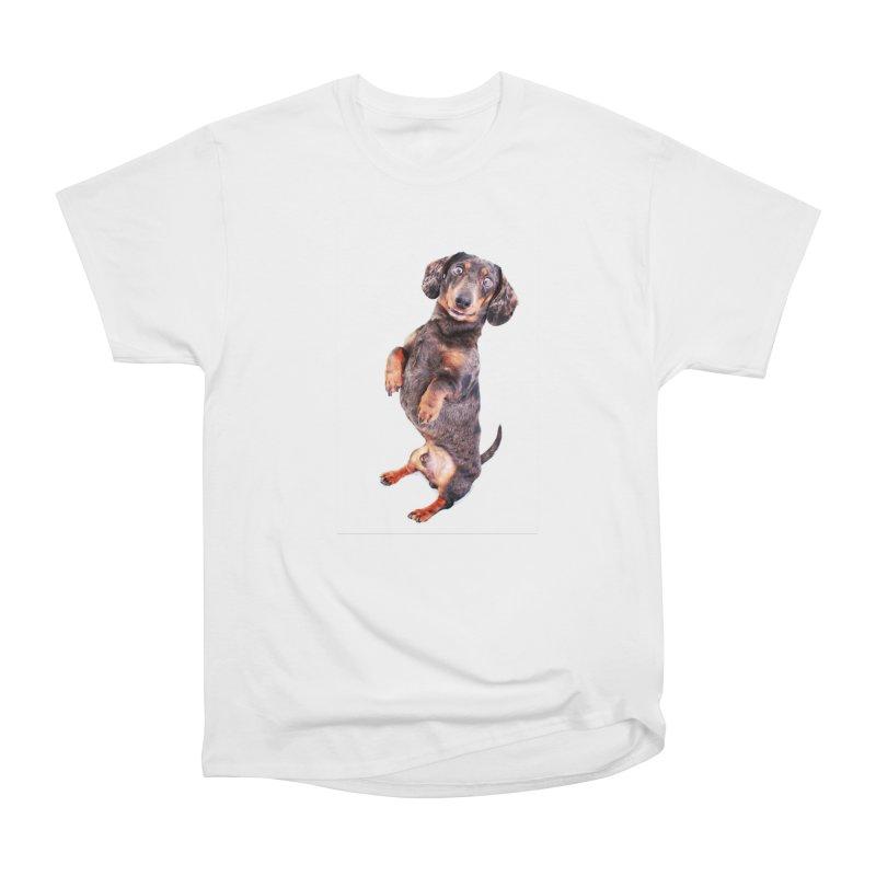 Dapple Dachshund Smile Women's T-Shirt by rufusontheweb's Artist Shop