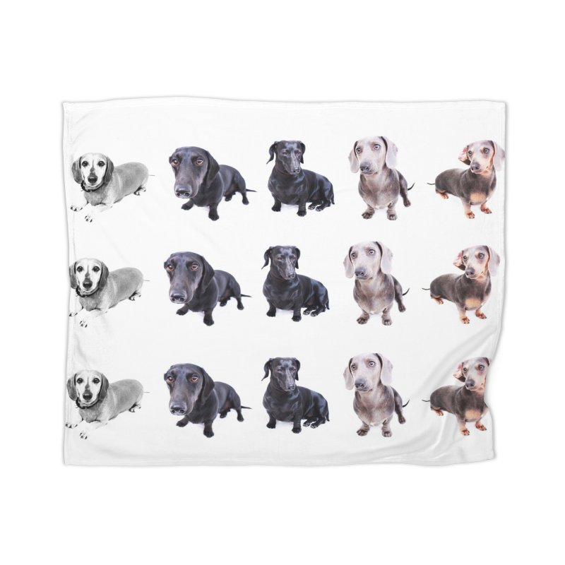 Dachshund pop art Home Blanket by rufusontheweb's Artist Shop