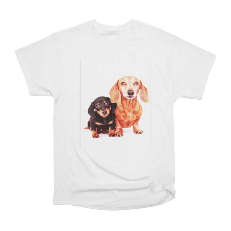 Puppy love Men's T-Shirt by rufusontheweb's Artist Shop