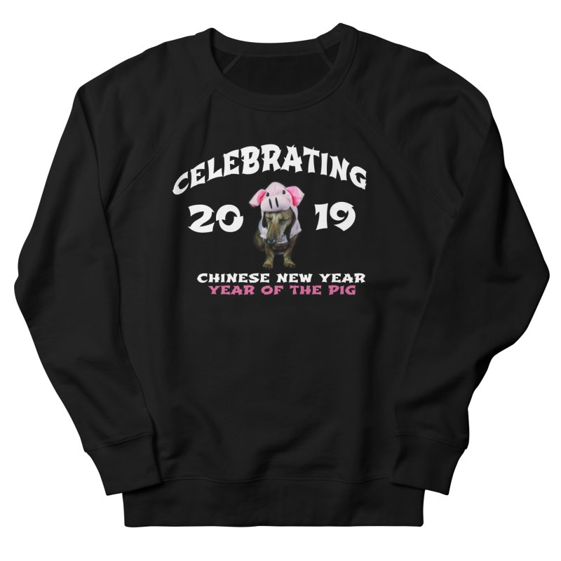 Chinese New Year 2019 Women's Sweatshirt by rufusontheweb's Artist Shop