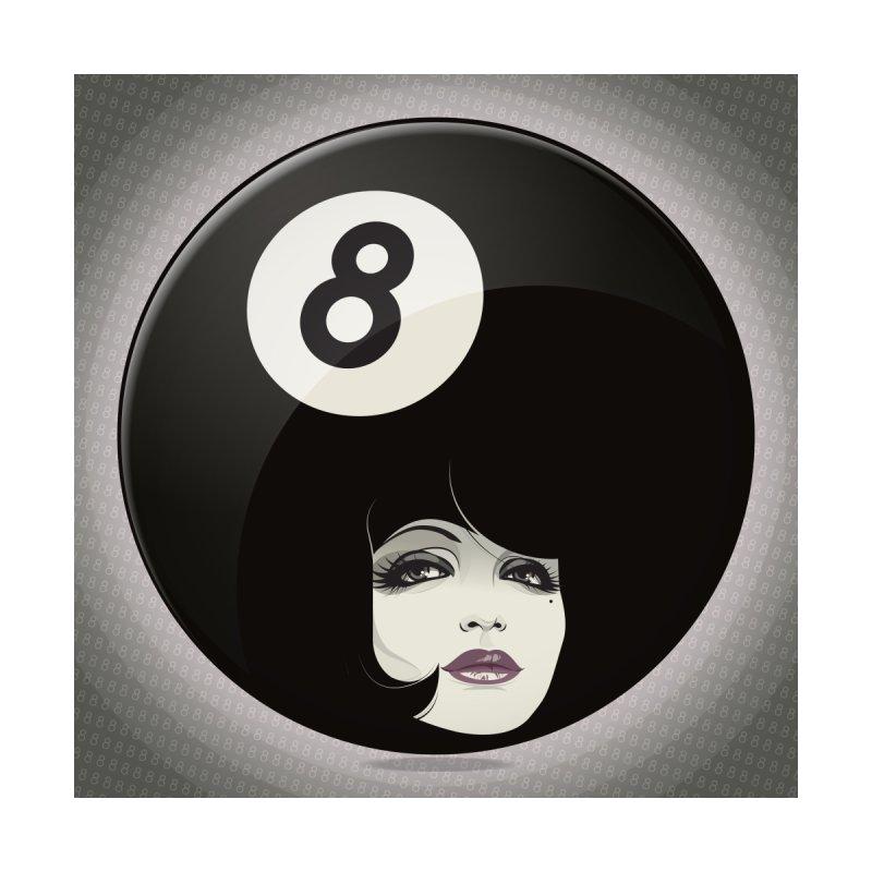 8 Ball None  by rugiada's Artist Shop