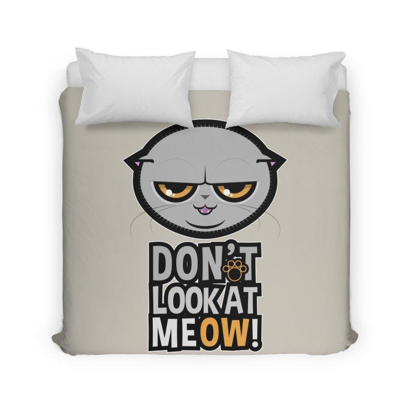 Meow Home Duvet by rugiada's Artist Shop