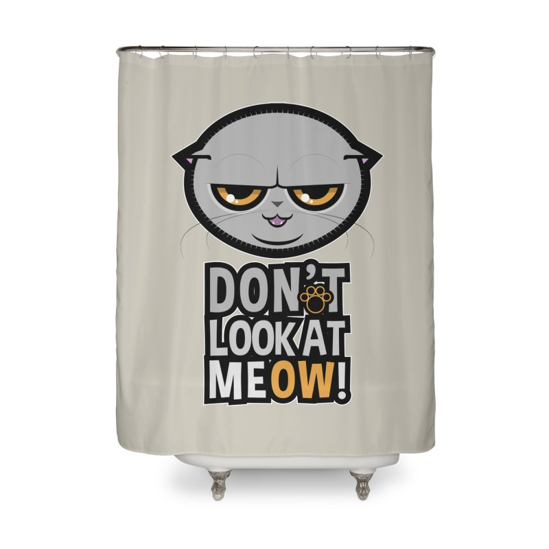 Meow Home Shower Curtain by rugiada's Artist Shop
