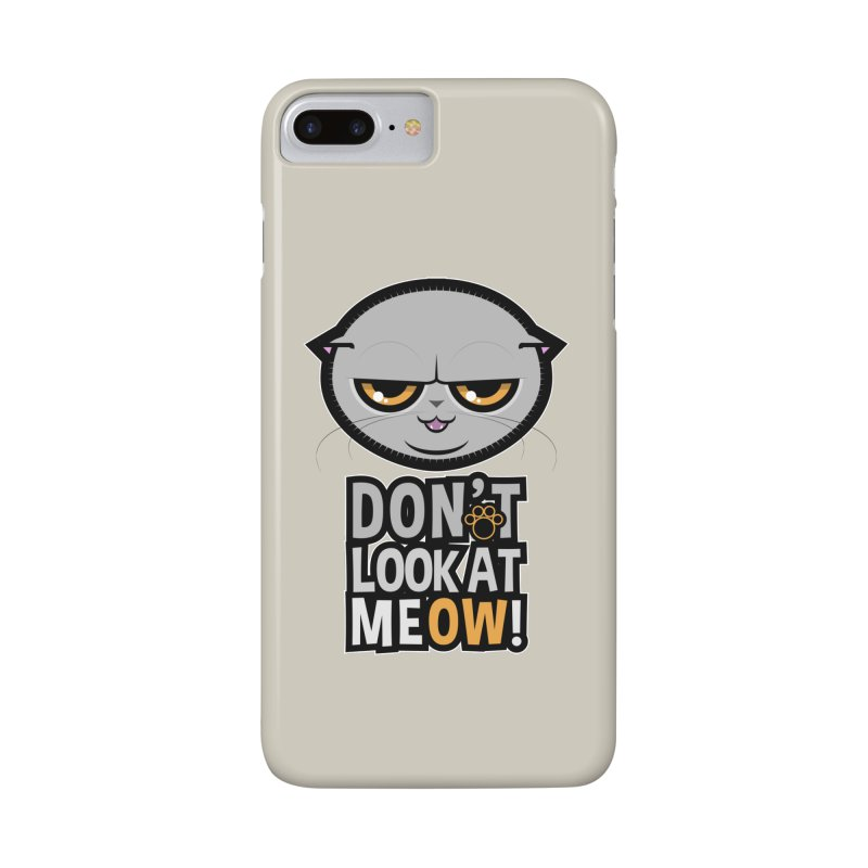 Meow Accessories Phone Case by rugiada's Artist Shop