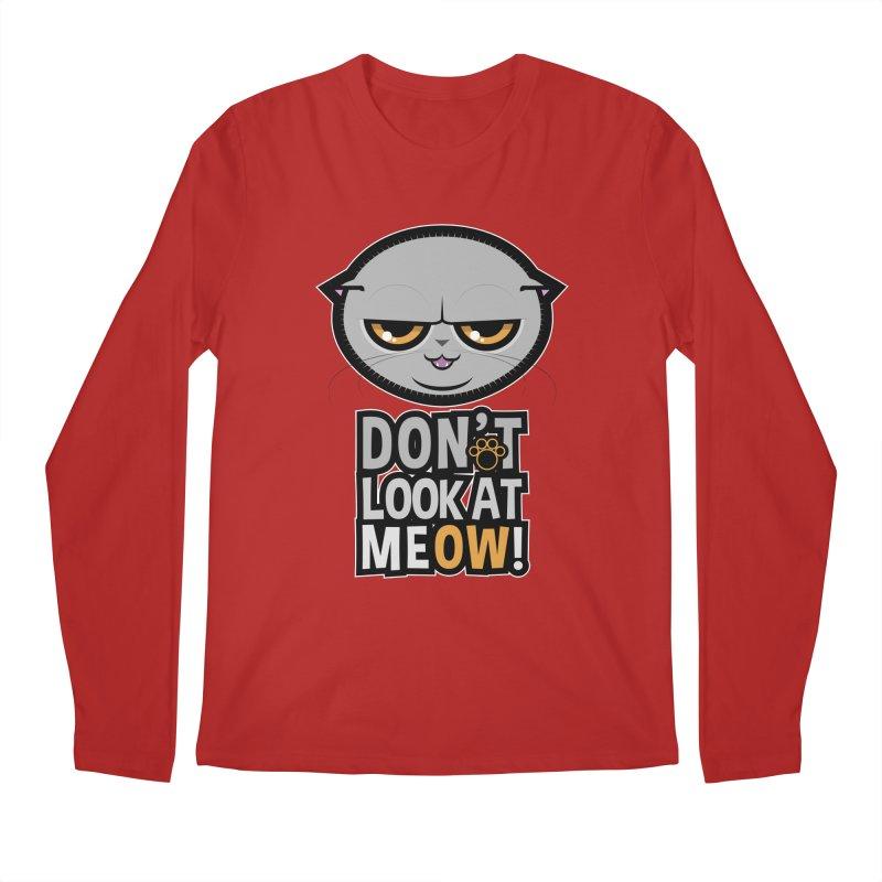 Meow Men's Longsleeve T-Shirt by rugiada's Artist Shop