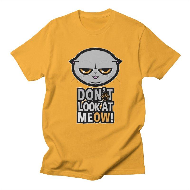 Meow Men's T-Shirt by rugiada's Artist Shop