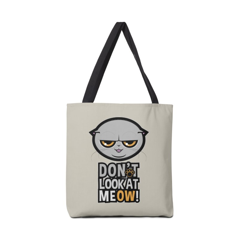 Meow Accessories Tote Bag Bag by rugiada's Artist Shop