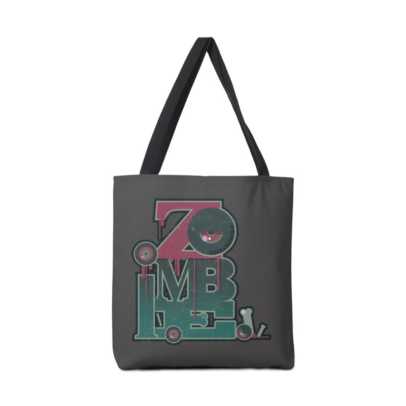 zombie Accessories Tote Bag Bag by rugiada's Artist Shop