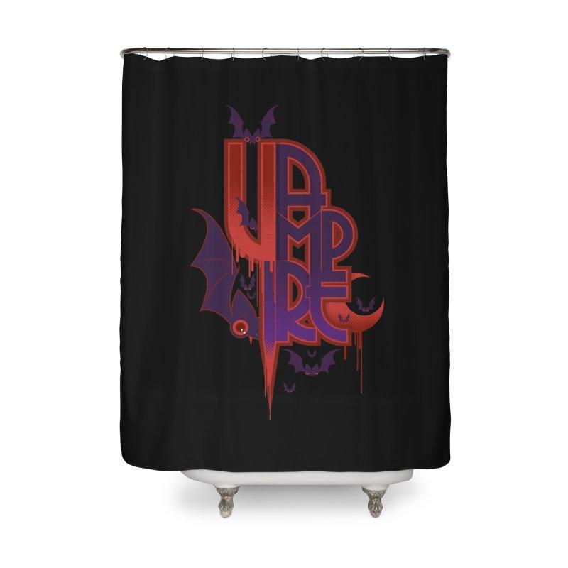 vampire Home Shower Curtain by rugiada's Artist Shop