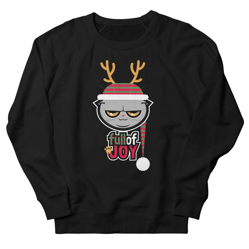 full of joy Women's French Terry Sweatshirt by rugiada's Artist Shop
