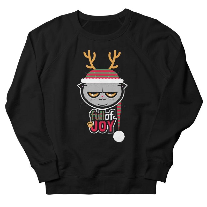 full of joy Men's French Terry Sweatshirt by rugiada's Artist Shop