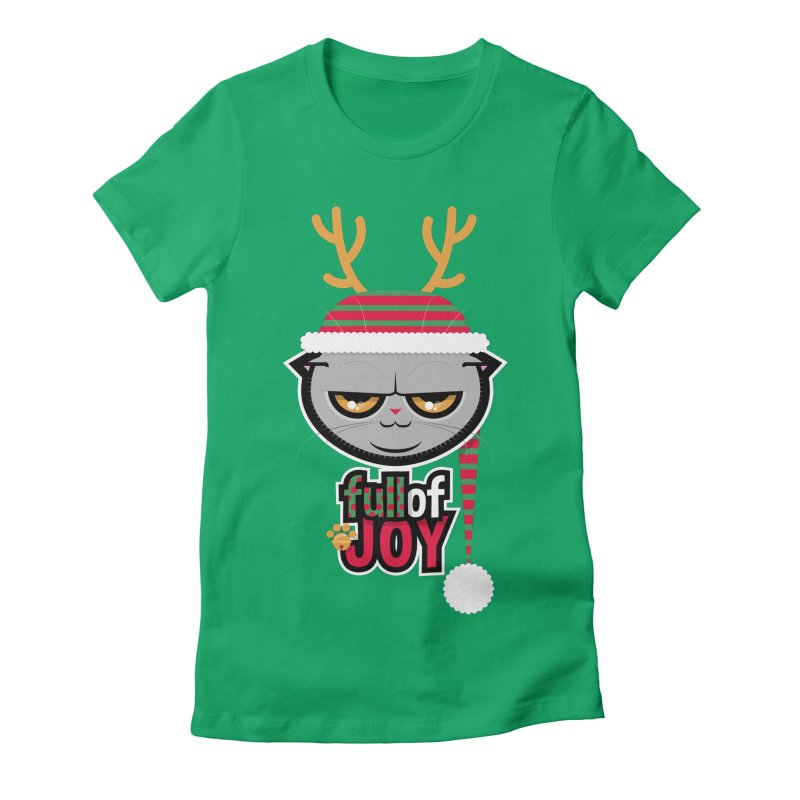 full of joy Women's Fitted T-Shirt by rugiada's Artist Shop