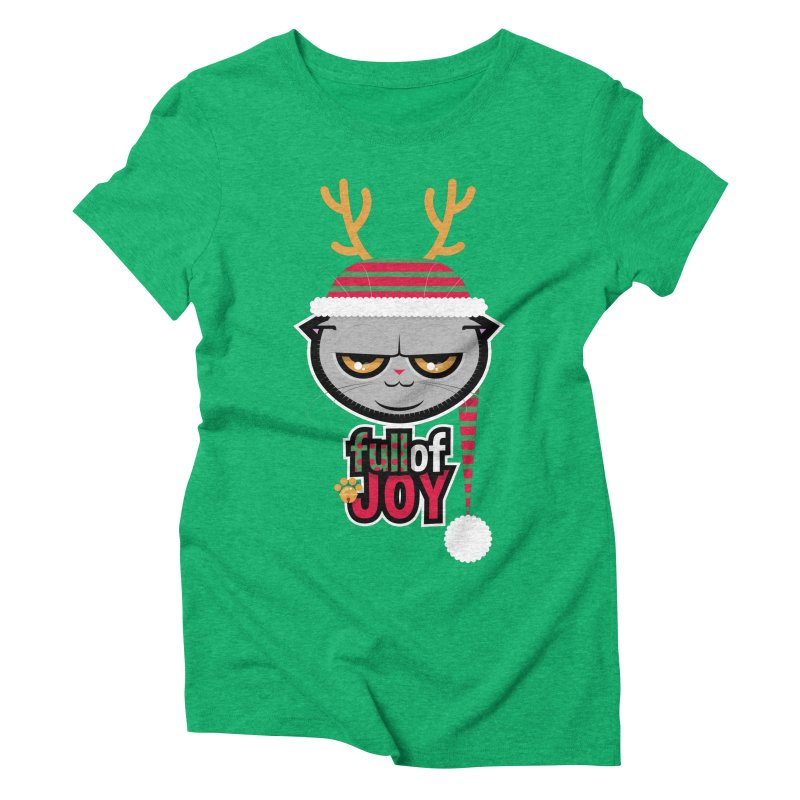 full of joy Women's Triblend T-Shirt by rugiada's Artist Shop