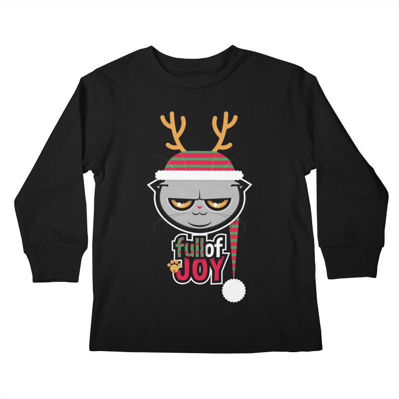 full of joy Kids Longsleeve T-Shirt by rugiada's Artist Shop