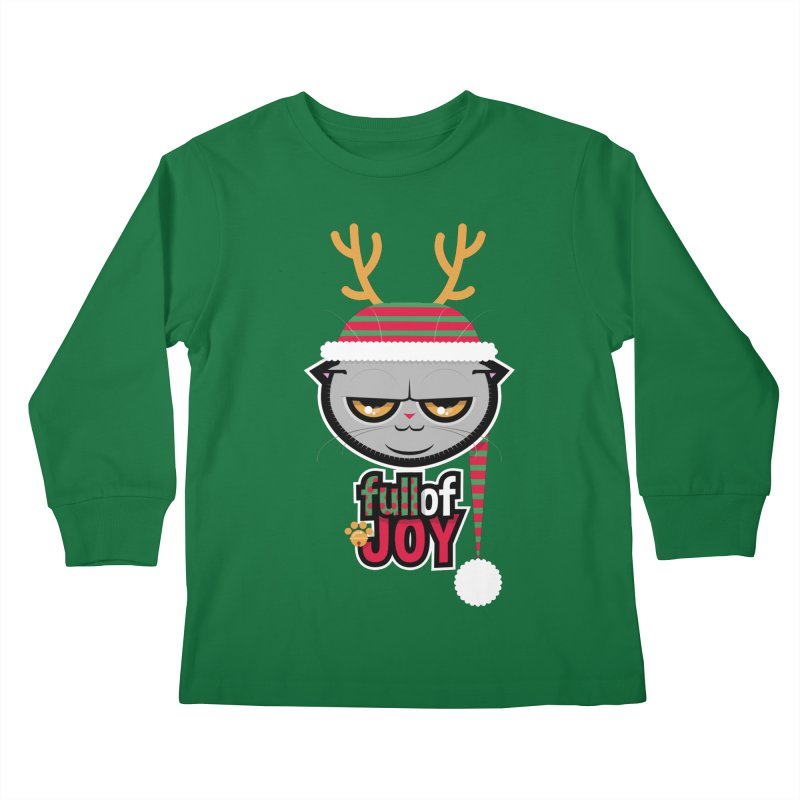 full of joy Kids Longsleeve T-Shirt by rugiada's Artist Shop