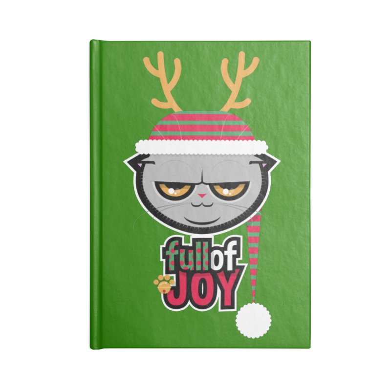 full of joy Accessories Blank Journal Notebook by rugiada's Artist Shop
