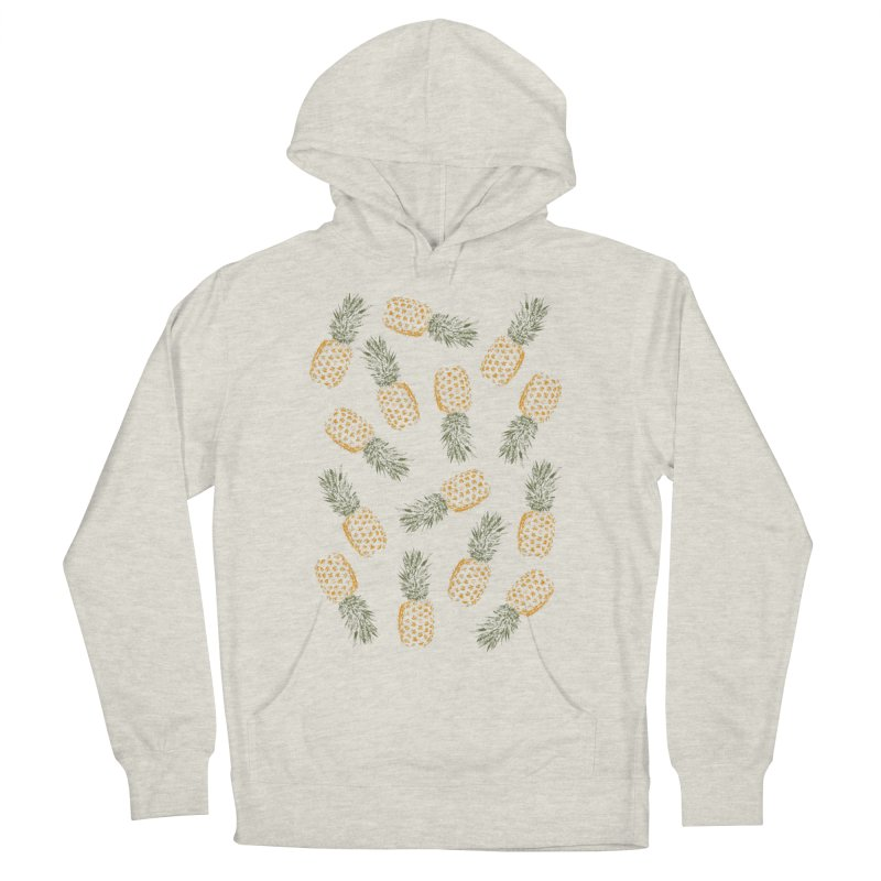 Pineapples Women's Pullover Hoody by ruifaria's Artist Shop