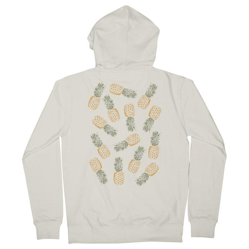 Pineapples Women's Zip-Up Hoody by ruifaria's Artist Shop
