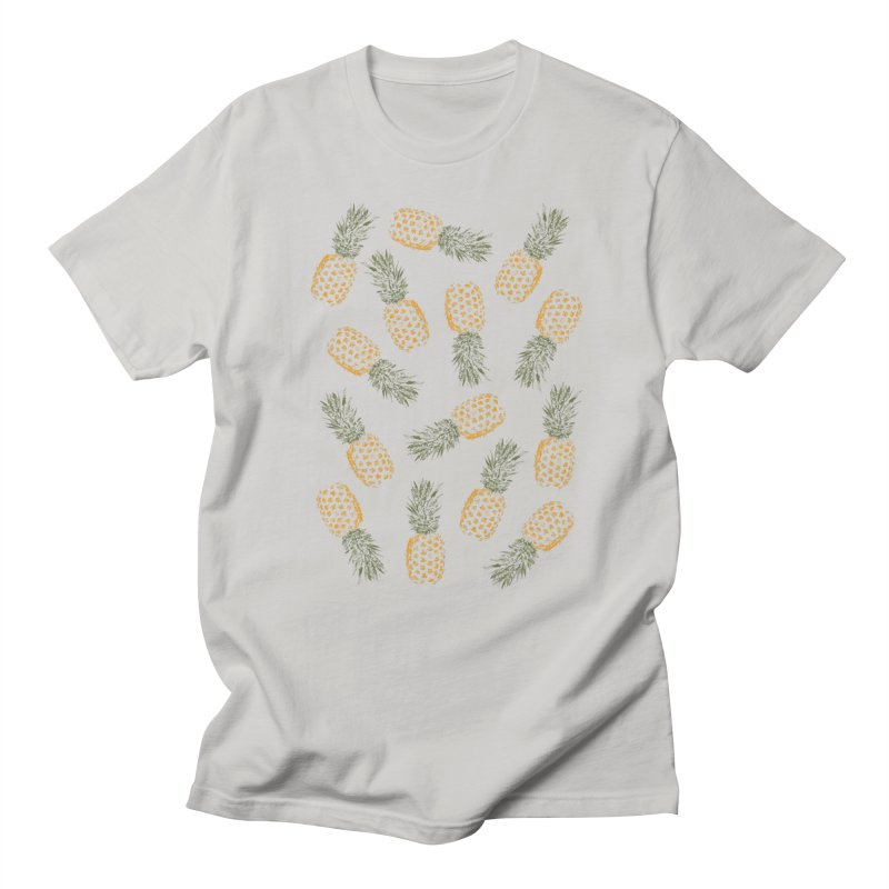 Pineapples Men's T-Shirt by ruifaria's Artist Shop