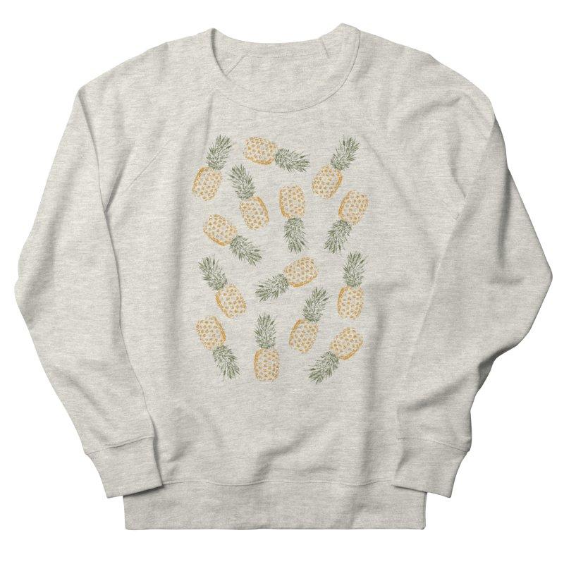 Pineapples Women's Sweatshirt by ruifaria's Artist Shop