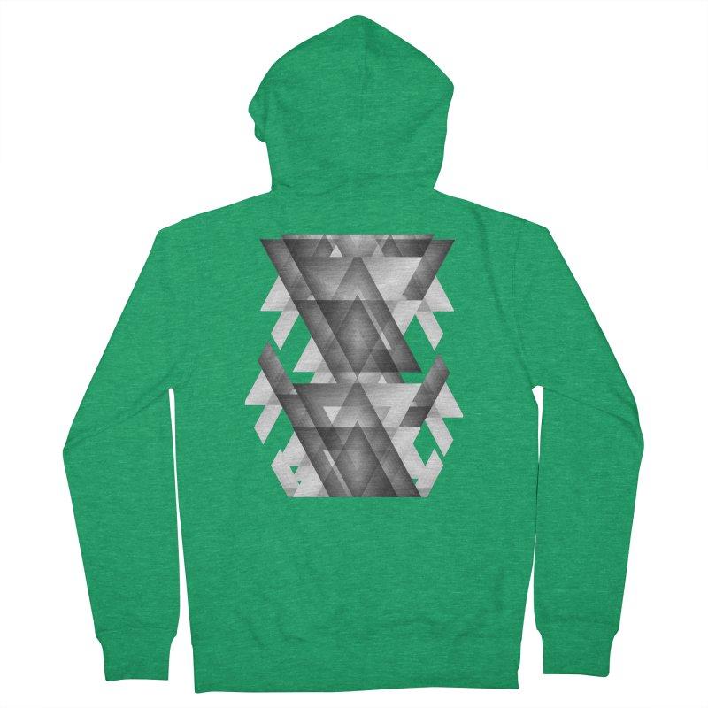 Trianglism Men's Zip-Up Hoody by ruifaria's Artist Shop