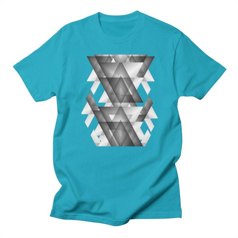 Trianglism Men's T-Shirt by ruifaria's Artist Shop