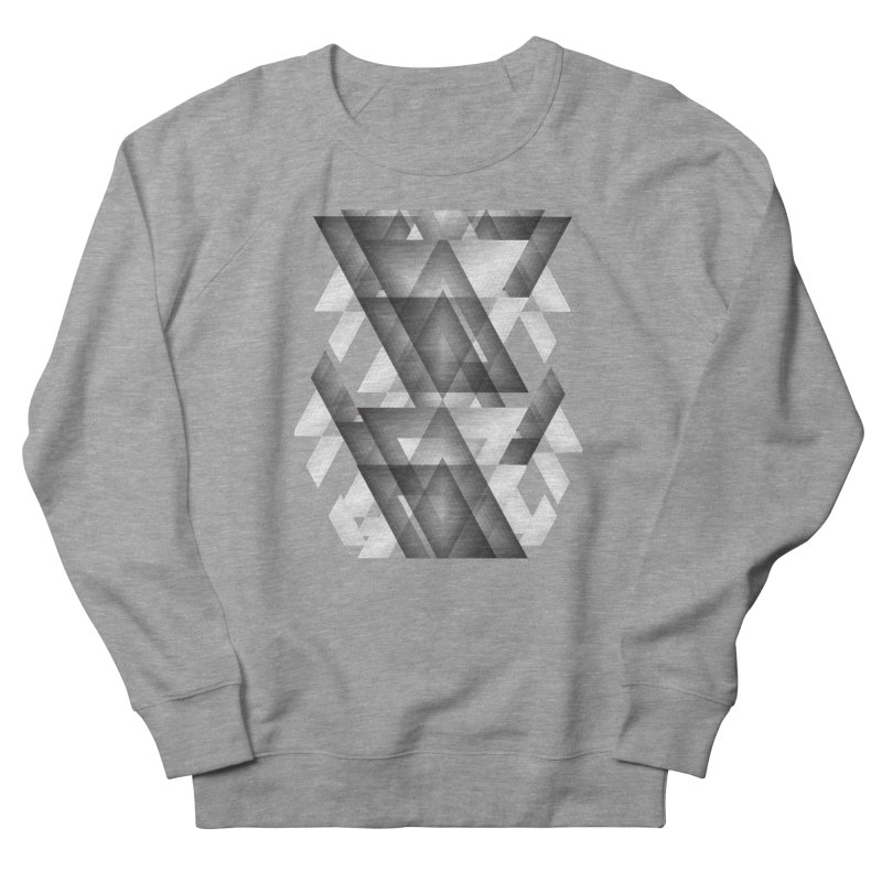 Trianglism Men's Sweatshirt by ruifaria's Artist Shop